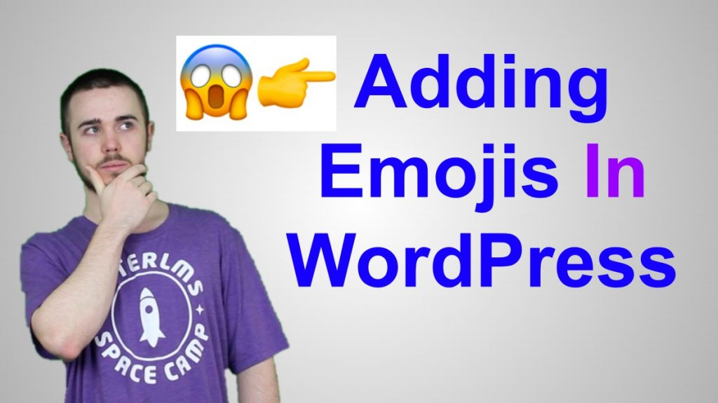 will middleton thumbnail add emojis to wordpress blog post